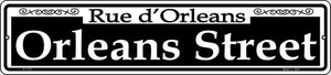 Orleans Street Wholesale Novelty Small Metal Street Sign K-1107