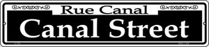 Canal Street Wholesale Novelty Small Metal Street Sign K-1108