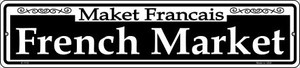 French Market Wholesale Novelty Small Metal Street Sign K-1110