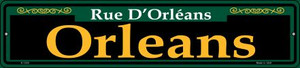 Orleans Green Wholesale Novelty Small Metal Street Sign K-1205