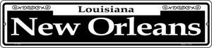 New Orleans Wholesale Novelty Small Metal Street Sign K-1228