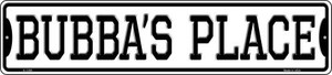 Bubbas Place Wholesale Novelty Small Metal Street Sign K-1398