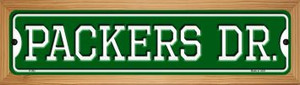 Packers Dr Wholesale Novelty Wood Mounted Small Metal Street Sign WB-K-962