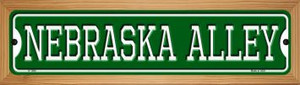 Nebraska Alley Wholesale Novelty Wood Mounted Small Metal Street Sign WB-K-1086