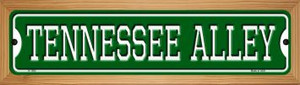 Tennessee Alley Wholesale Novelty Wood Mounted Small Metal Street Sign WB-K-1092