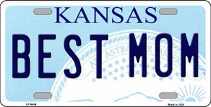 Best Mom Kansas Novelty Wholesale Metal License Plate