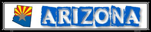 Arizona State Outline Wholesale Novelty Metal Street Sign ST-302