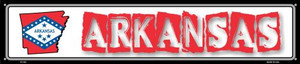 Arkansas State Outline Wholesale Novelty Metal Street Sign ST-303