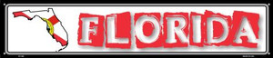 Florida State Outline Wholesale Novelty Metal Street Sign ST-308