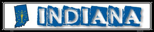 Indiana State Outline Wholesale Novelty Metal Street Sign ST-313