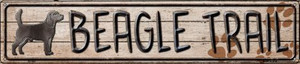 Beagle Trail Wholesale Novelty Metal Street Sign ST-452