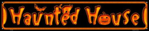 Haunted House Wholesale Novelty Metal Street Sign ST-580