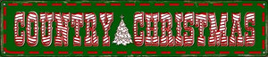 Country Christmas Wholesale Novelty Metal Street Sign ST-598