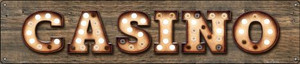 Casino Wholesale Novelty Metal Street Sign ST-811