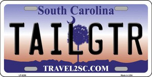 Tailgter South Carolina Novelty Wholesale Metal License Plate LP-6269