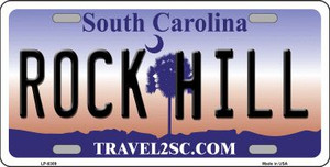 Rock Hill South Carolina Novelty Wholesale Metal License Plate LP-6309