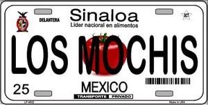 Los Mochis Mexico Novelty Background Wholesale Metal License Plate LP-4822
