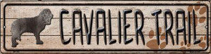 Cavalier Trail Wholesale Novelty Mini Metal Street Sign MK-046
