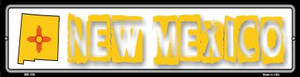 New Mexico State Outline Wholesale Novelty Mini Metal Street Sign MK-330