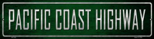 Pacific Coast Highway Wholesale Novelty Mini Metal Street Sign MK-404