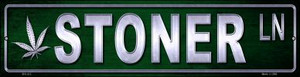 Stoner Wholesale Novelty Mini Metal Street Sign MK-412
