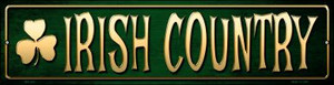 Irish Country Wholesale Novelty Mini Metal Street Sign MK-425