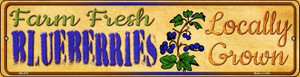Farm Fresh Blueberries Wholesale Novelty Mini Metal Street Sign MK-676