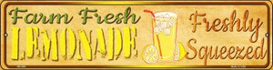 Farm Fresh Lemonade Wholesale Novelty Mini Metal Street Sign MK-694