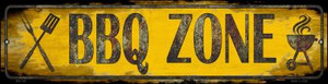 BBQ Zone Wholesale Novelty Mini Metal Street Sign MK-728