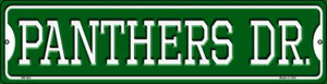 Panthers Dr Wholesale Novelty Mini Metal Street Sign MK-963