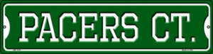 Pacers Ct Wholesale Novelty Mini Metal Street Sign MK-1016