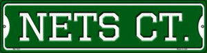 Nets Ct Wholesale Novelty Mini Metal Street Sign MK-1023