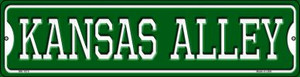 Kansas Alley Wholesale Novelty Mini Metal Street Sign MK-1075