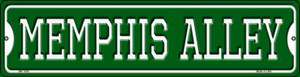 Memphis Alley Wholesale Novelty Mini Metal Street Sign MK-1080
