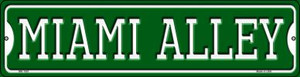 Miami Alley Wholesale Novelty Mini Metal Street Sign MK-1081