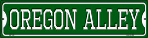 Oregon Alley Wholesale Novelty Mini Metal Street Sign MK-1089