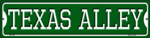 Texas Alley Wholesale Novelty Mini Metal Street Sign MK-1094