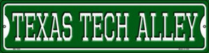 Texas Tech Alley Wholesale Novelty Mini Metal Street Sign MK-1095