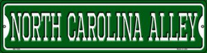 North Carolina Alley Wholesale Novelty Mini Metal Street Sign MK-1096
