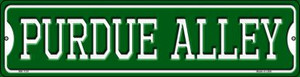 Purdue Alley Wholesale Novelty Mini Metal Street Sign MK-1101