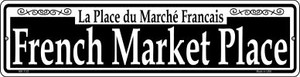 French Market Place Wholesale Novelty Mini Metal Street Sign MK-1133