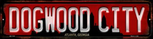 Atlanta Georgia Dogwood City Wholesale Novelty Mini Metal Street Sign MK-1249