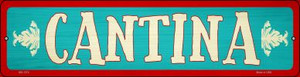 Cantina Wholesale Novelty Mini Metal Street Sign MK-1374