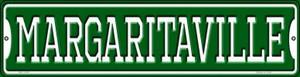 Margaritaville Wholesale Novelty Mini Metal Street Sign MK-1399