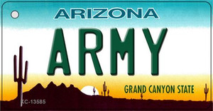 Army Arizona Wholesale Novelty Metal Key Chain KC-13585