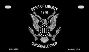 Sons of Liberty 1776 Wholesale Novelty Metal Motorcycle Plate MP-13580