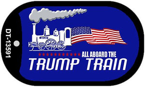 Trump Train Wholesale Novelty Metal Dog Tag Necklace DT-13591