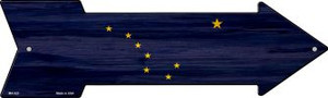 Alaska State Flag Wholesale Novelty Mini Metal Arrow MA-523