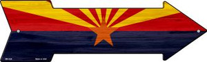 Arizona State Flag Wholesale Novelty Mini Metal Arrow MA-524