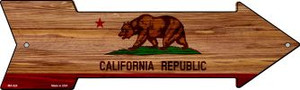 California State Flag Wholesale Novelty Mini Metal Arrow MA-526